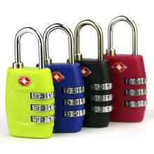 Tsa335 Serrure de voyage à cadenas combiné pour Luaggage et sac