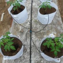 Gotejador irrigador de gotejamento de tubo de ramificação