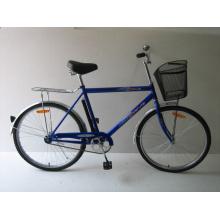 """Bicicleta resistente de 26 """"con marco de acero (TG2601)"""