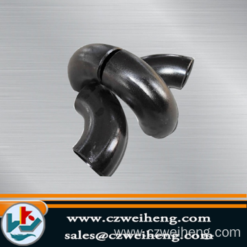 Customized for Black Steel Elbow Seamless Pipe Elbow Welding End supply to Central African Republic Exporter