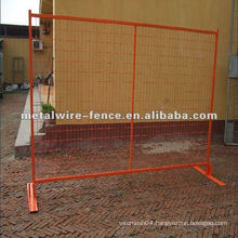 temporary portable fence system