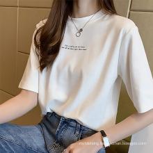 Summer New Korean Short-Sleeved Women′s Summer T-Shirt