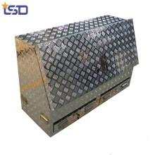 дешево высокое качество водонепроницаемый полуотверстия Алюминиевый грузовик ящик для инструментов