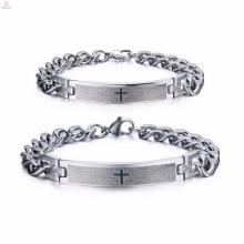 bracelet en vrac populaire populaire en acier inoxydable mode hommes