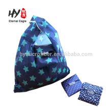 Portable faltbare Polyeater Einkaufstasche wasserdicht