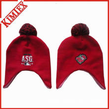 Cheap Promotion Cute Knitted Hat with Earflap