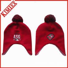 Дешевые продвижение Симпатичные трикотажные Hat с Earflap