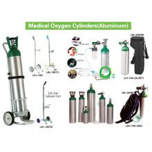Medical Oxygen Cylinders & Carts