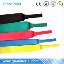 Tuyau flexible de rétrécissement de chaleur de caoutchouc de silicone résistant à la chaleur de grand diamètre