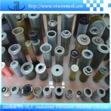 Elementos de filtro SUS 316L Vetex