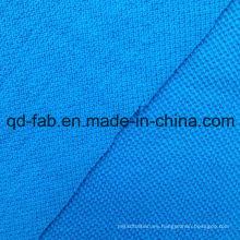 Tela de Jersey de malla de cáñamo / algodón (QF14-1458)