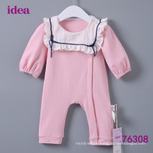 76308 Long Sleeves Baby Clothes Romper Baby Onesie