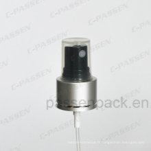 Pompe de pulvérisation de brouillard en aluminium-plastique pour bouteilles de pulvérisateur (PPC-SP-001)