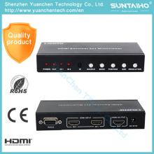 В1.4 разъема HDMI 2х1 Мульти-просмотра HDMI переключатель с PIP