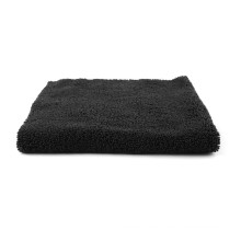 Car microfiber polishing edgeless towel