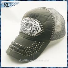 2016 nuevo estilo con la gorra de béisbol customeied logotipo hecho en China