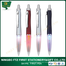 Niedrigster Preis Led Licht Kugelschreiber Für Geschenk