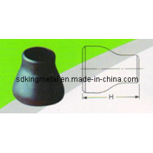 Reductor concéntrico de reducción de salida de acero al carbono
