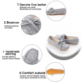 Comfortable Genuine Leather Loafer Moccasin Shoes for Women