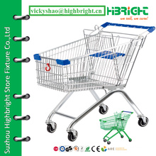 metal shopping cart,dimension shopping trolley,4 wheeled shopping trolley