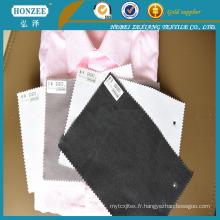 C8505 S / blanc haute qualité chemises interlignage
