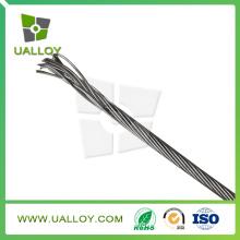 Alambre trenzado de aleación de níquel (Nichrome 80)