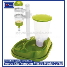 New Product Professional customized plastic Auto Dog Feeder Feeding Bowl Injection mould