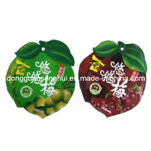 Special Shaped Plastic Bag for Dry Fruit/Fruit Snack Pouch/Special Shape Bag