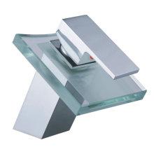 Grifo de lavabo de vidrio YN6666-A