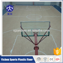 Nova Tecnologia Pvc Vinyl Basketball Flooring