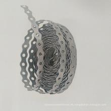 galvanizado Joist percha placa de clavo perforado fleje atadura correa