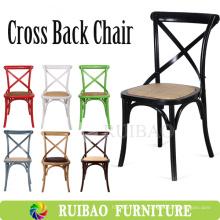 2016 Fabricante de Design Simples Atacado Crossback Chair Projetos de cadeira de madeira