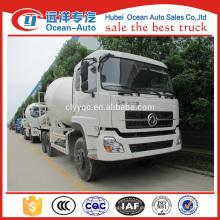 Dongfeng Neubau 6X4 Betonmischer Fahrzeug mit 8 ~ 10cbm Kapazität zu verkaufen