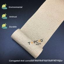 Corrugated Anti-Corrosion and Anti-Rust Kraft Vci Crepe Paper