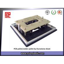 Matériaux de palette de soudure de plat de Durestone / carte PCB