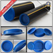 Insertos e tampas de extremidade de tubo PE feitos de LDPE (YZF-H107)