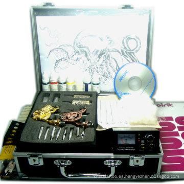 Kits de tatuaje personalizables con máquina rotativa