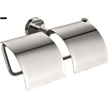 Brass Double Bathroom Paper Holder