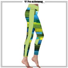 Sublimated Gym Wear Running Exercising Yoga Pants