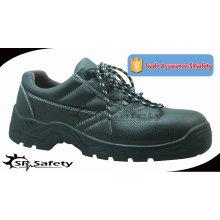 SRSAFETY 2015 промышленная безопасность обувь тиснение корова сплит кожа безопасности обувь черный стали безопасности обувь