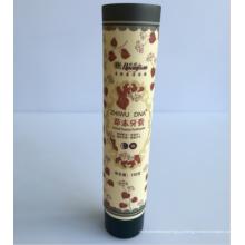 Tubo de plástico de 40 mm de diâmetro com tampa de rosca (EF-TB4008)