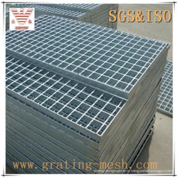 Barra fechada padrão lisa / grade de aço galvanizado