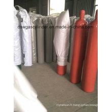 Cylindre d'extinction d'incendie CO2 68L