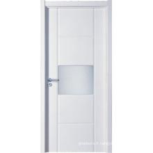 Conception en bois de porte en verre (WX-PW-314)