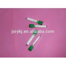 good quality Lithium Heparin vacuum blood tubes / vacuum blood tube 13*100mm
