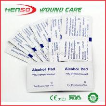 HENSO Éponge alcoolique à usage unique isopropylique à 70% HENSO