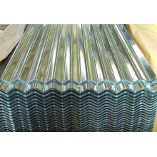 Baubau Rohstoff, Farbe Zink Wellpappe Metalldachblech