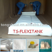 o 24tons top flexitank descarregando carga & top