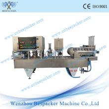 Machine de remplissage de gâteau à la tasse de café Liquid Wash Wash