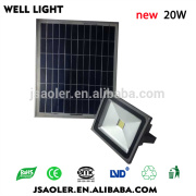 20w high quality CE ROHS LVD EMC solar camping light led garden light solar led light